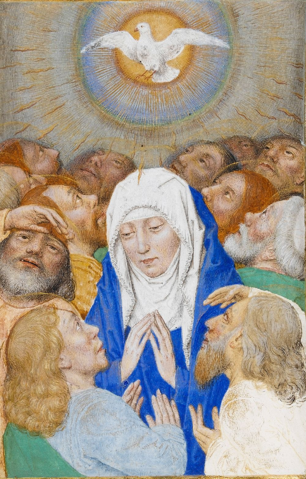 Mary at Pentecost